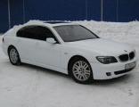 Покраска BMW 7 series в матовый цвет
