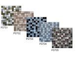 Мозаика стекло+камень