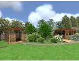 3D модели садовых конструкций Tammiston