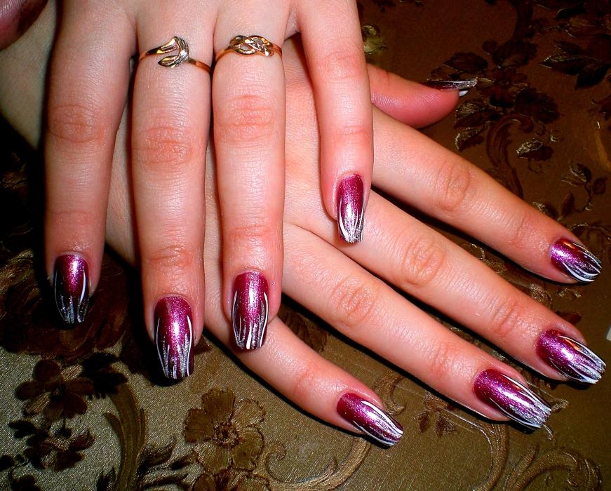Современное оформление ногтей