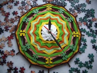 """Часы """"Мозаика жизни"""""""