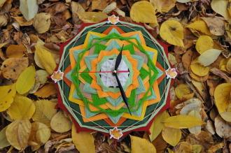 "Часы ""Блюзовый дождь"""