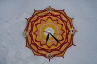 "Часы ""Зимнее солнцестояние"""