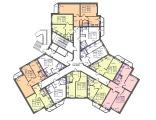 Экспликация 1 этажа корпуса Трехлистник