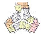 Экспликация 2 этажа корпуса Трехлистник