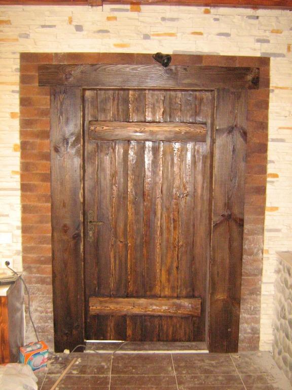 Двери входные своими руками из дерева