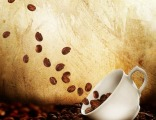 """""""Летящие кофейные зерна"""" цена за 1 кв. м."""
