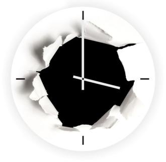 """Настенные часы """"Дыра"""""""