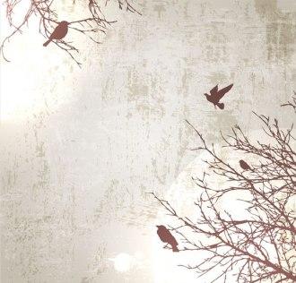 """""""Птицы на деревьях"""" цена за 1 кв.м."""