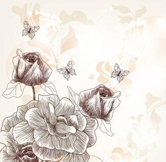 """""""Винтажные цветы № 1"""""""