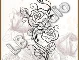 """""""Винтажные розы"""""""
