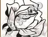 Винтажная роза № 17