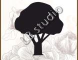 Дерево № 32 (87 см * 95 см)