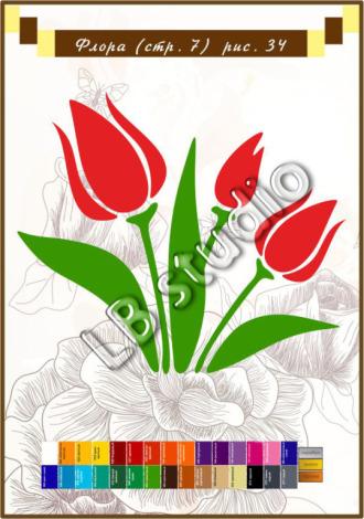 Тюльпаны № 34