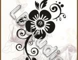 Цветочный орнамент № 41