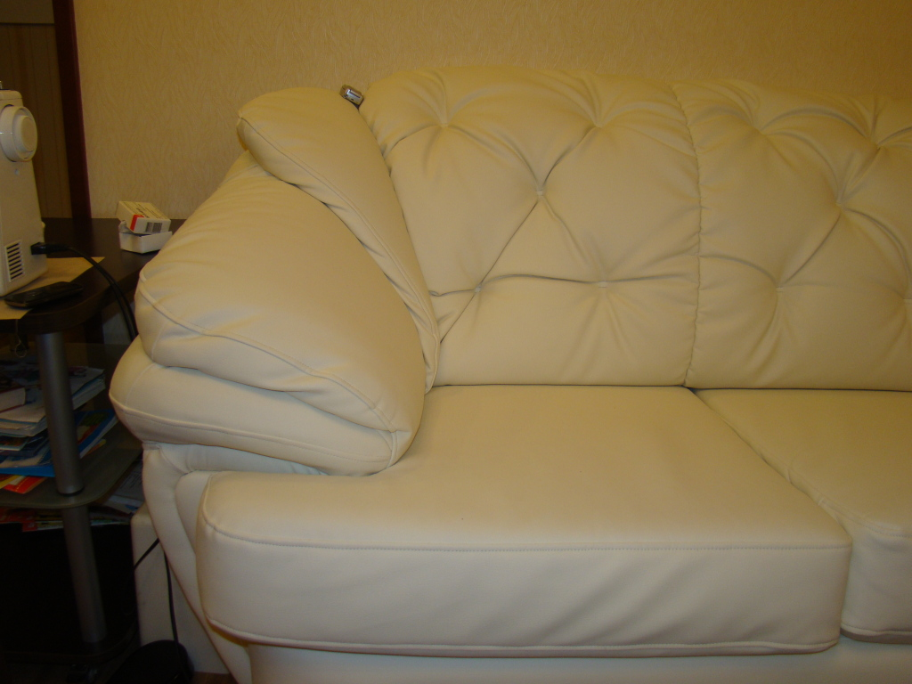 Перетяжка дивана своими руками 64