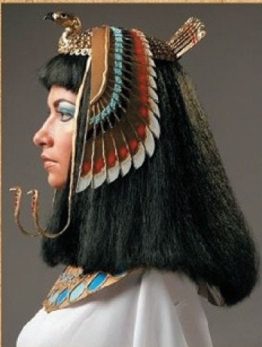 Египетская женская прическа