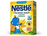 Nestle «Овсяная с грушей и бананом» мол., с 6 мес250 гр