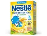 Nestle «Пшеничная с бананом» мол., с 6 мес 250 гр