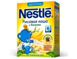 Nestle «Рисовая с бананом» мол., с 6 мес 250 гр