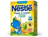 Nestle «3 злака с яблоком и грушей» мол., с 6 мес 250 гр