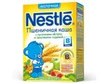 Nestle Пшеничная каша с кусочками яблоками и земляники садовой мол., с 8 мес 250г