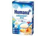 Каша Humana молочная 250 гр. Овсяная с персиком (вечерняя) с 6 мес.