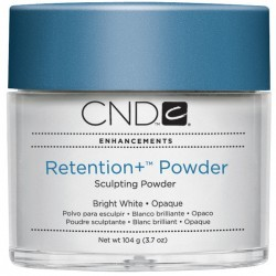 CND Retention+ Powders Bright White 104гр (Акриловая пудра ярко-белая)