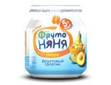 ФрутоНяНя «ФРУКТОВЫЙ САЛАТИК» без сахара, с 5 мес (100гр)