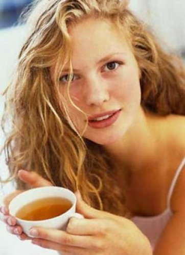 Кто ополаскивал волосы чаем