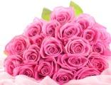 Розовые розы (от 5 до 11 шт)