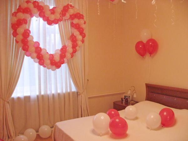 Фото как украсить комнату к свадьбе своими руками
