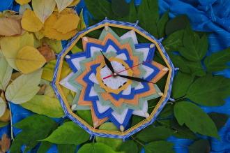 """Часы """"Спираль времени"""""""
