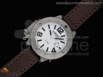 U-42 54mm Diver Stainless White