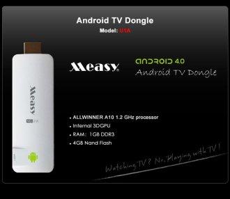 Смарт ТВ приставка Measy U1A Android 4.0