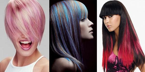 Колорирование волос сочетание цветов