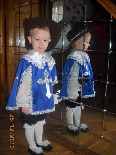 Новогодний костюм своими руками для мальчика 6
