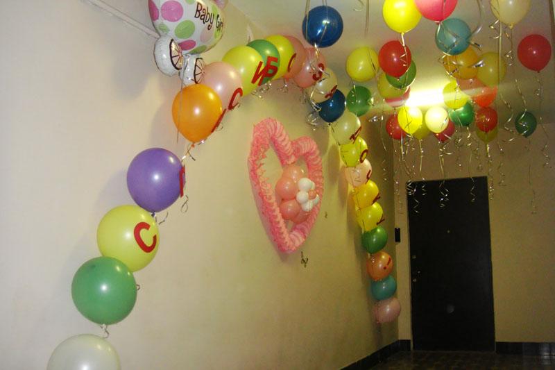 Как украсить комнату на день рождения сына своими руками
