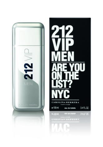 "Туалетная вода, Carolina Herrera ""212 VIP Men"", 100 ml"