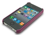 Melkco Leather Snap Cover for Apple iPhone 4 / 4 S - (Purple LC)