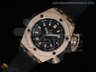 Big Bang King Diver 4000m Rose Gold