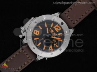 U-42 54mm Diver Stainless Black/Orange