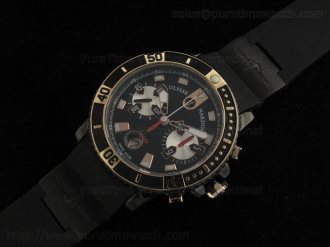 Maxi Marine Chrono Black